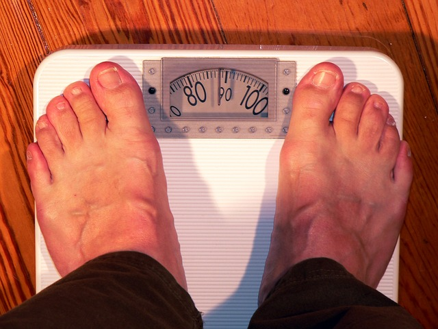 sobrepeso báscula